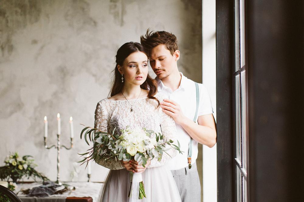Стилизованная свадебная съёмка