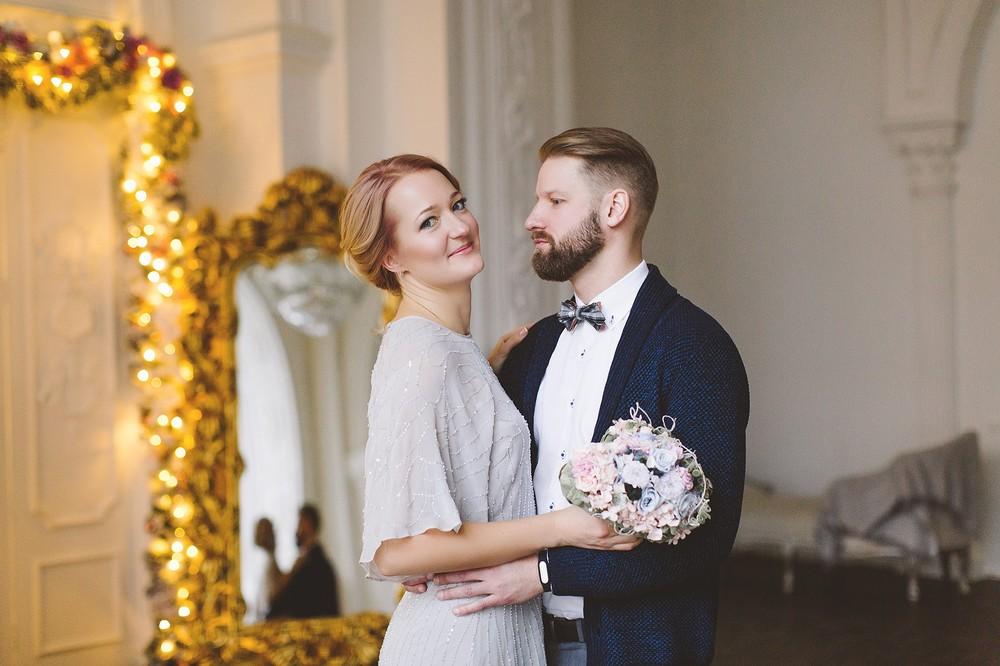 Зимняя свадьба Кирилла и Ксении