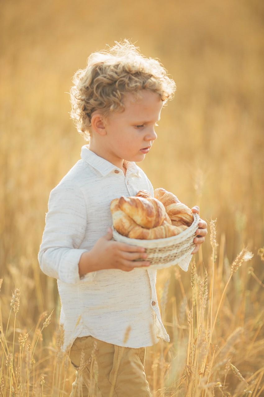 Солнце, пшеничное поле и счастье...