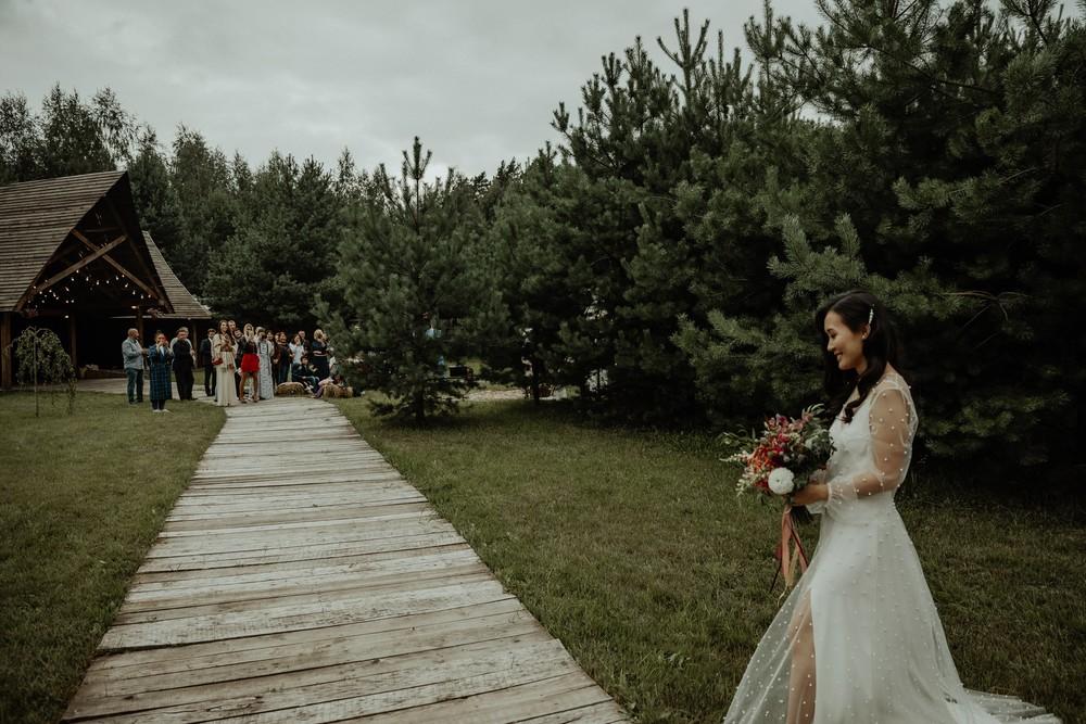 Уютная загородная свадьба Светланы и Юрия
