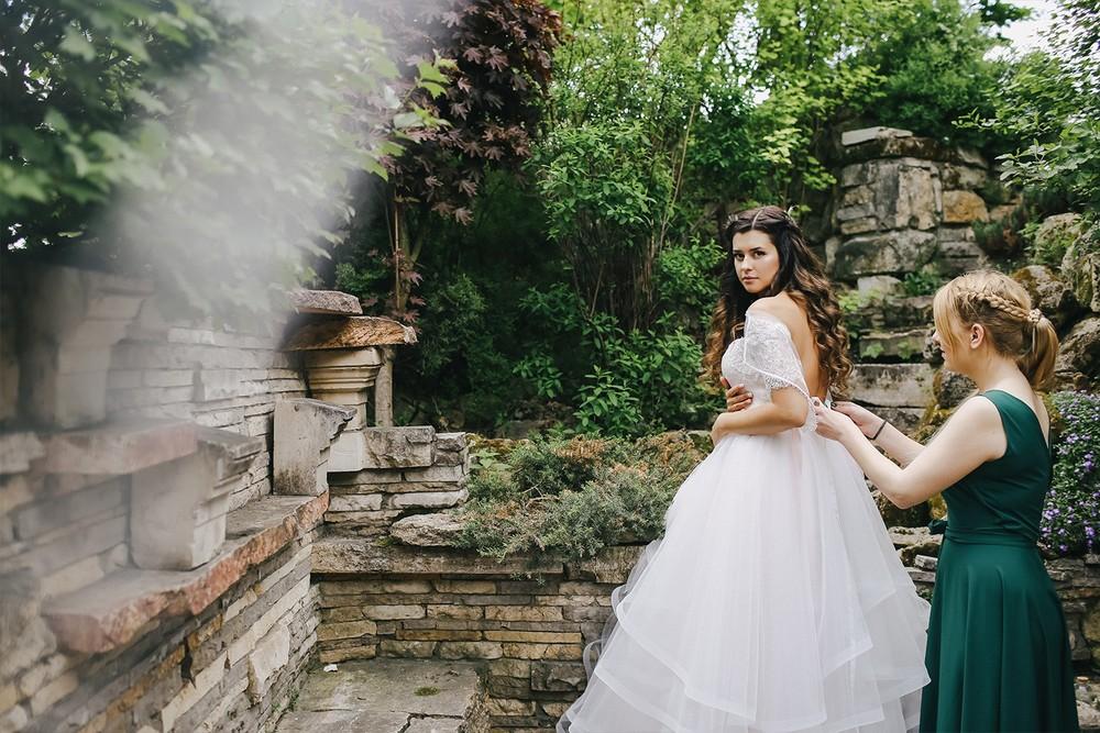 Эко свадьба Ольги и Реваза
