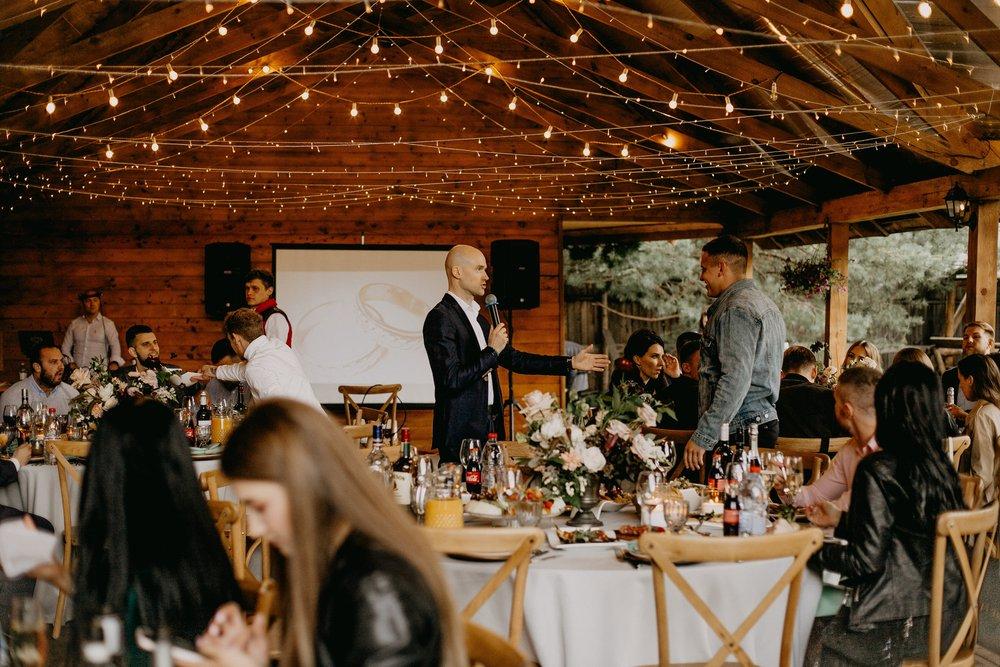 Свадебная вечеринка Даши и Сережи