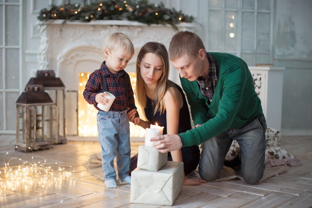 Илья, Алена и Богдан