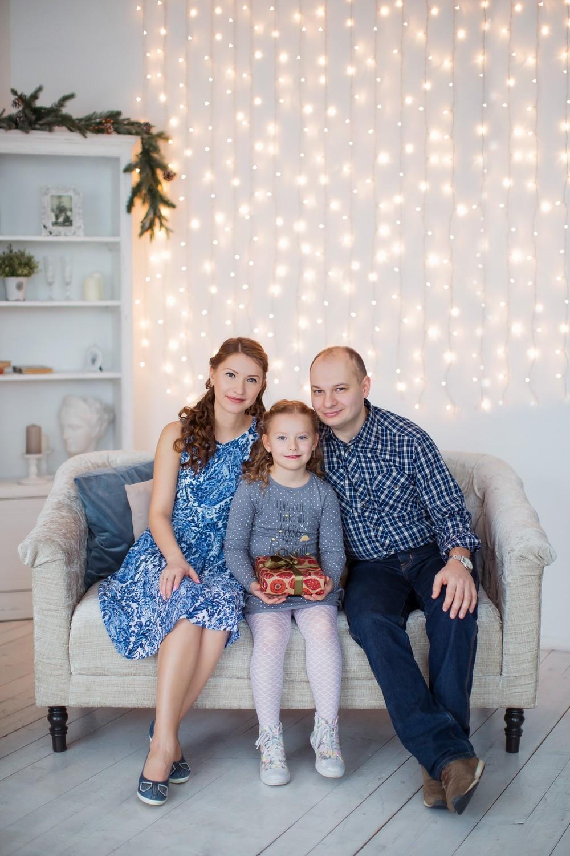 Андрей, Тоня и Ева (Новый год)