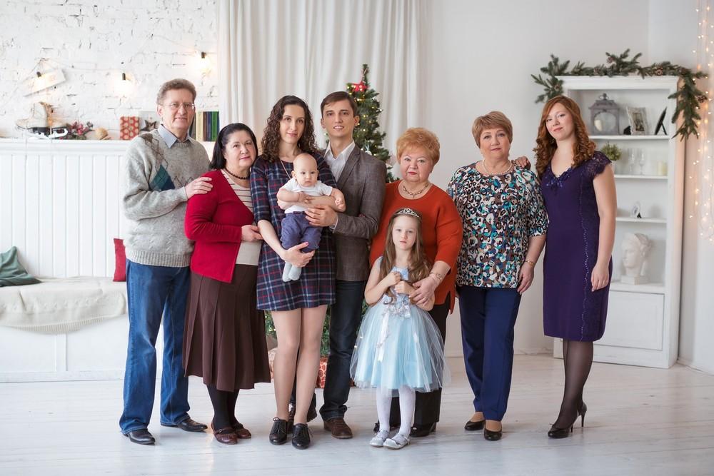 Новый год всей семьей