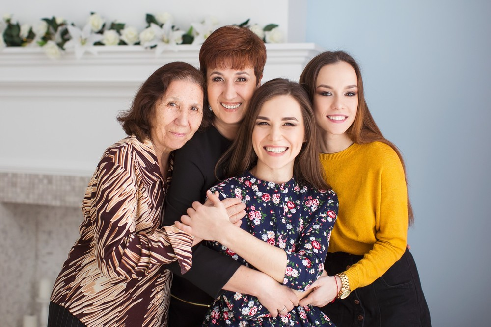 Семейная фотосессия на день рождение