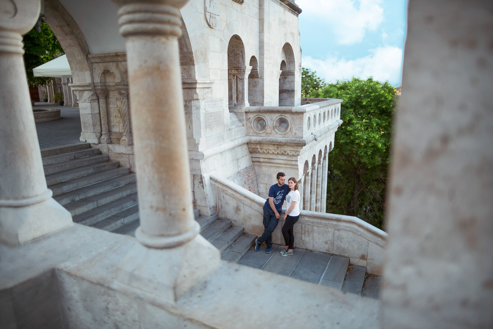 Love story in Budapest