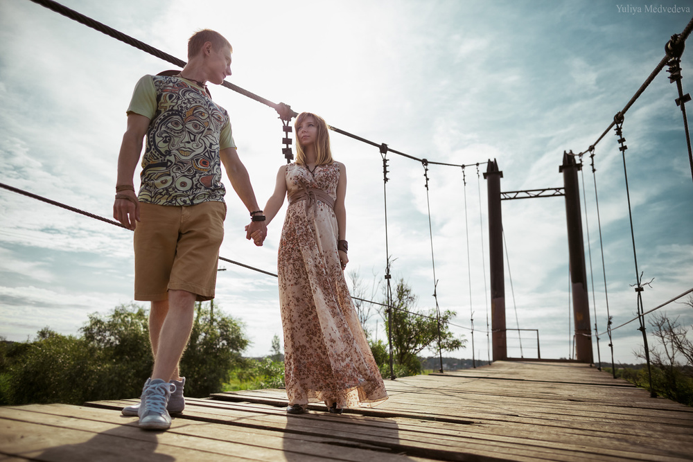 Илья и Алёна (История любви)