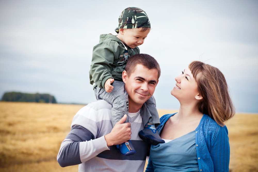 Андрей, Наталья и Кирилл