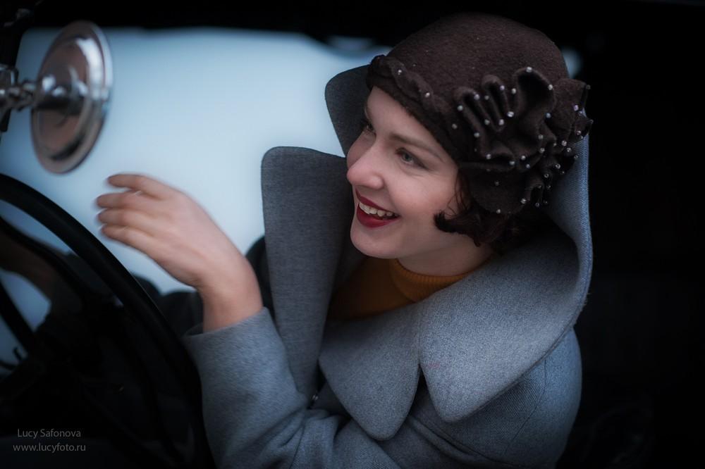 Женский портрет - Алиция. Art nouveau