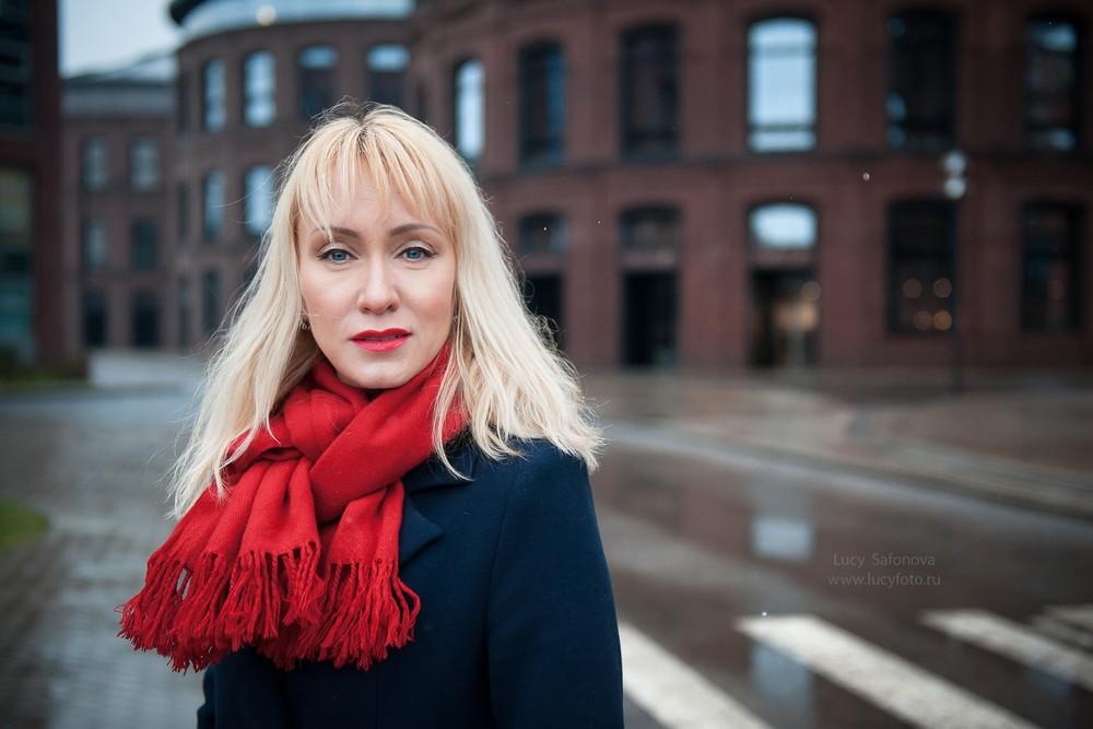 Женский портрет - Наталия. Найти яркие краски