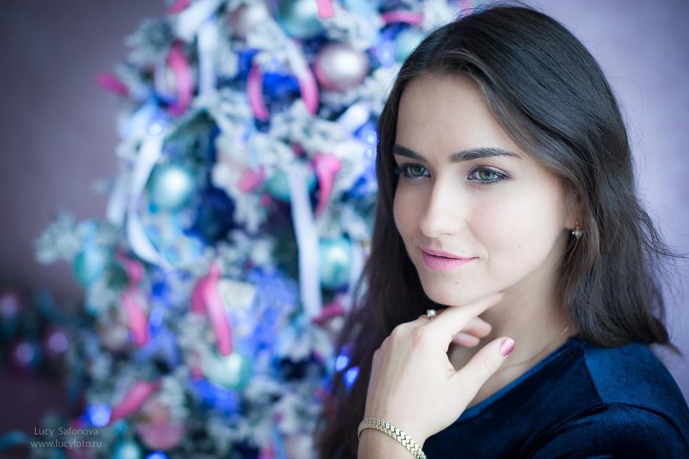 Женский портрет - Маша. Нежная карамель