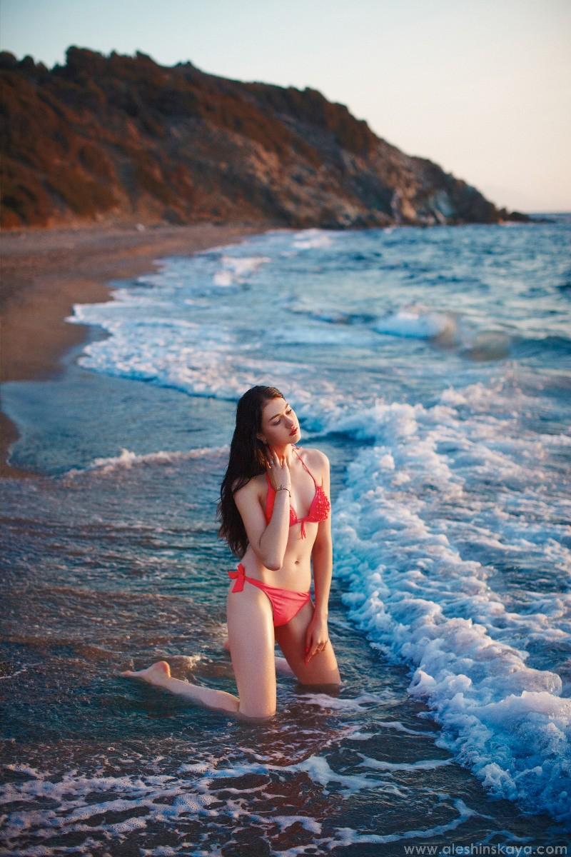 Irina at sea