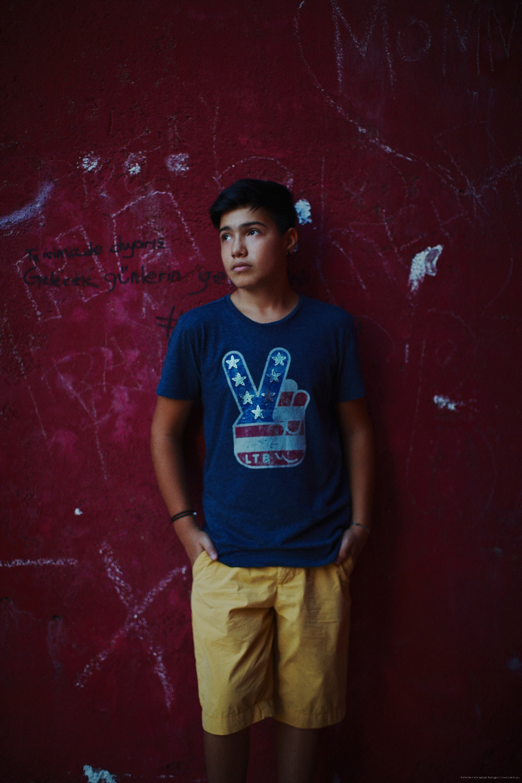 Photoset for model agency