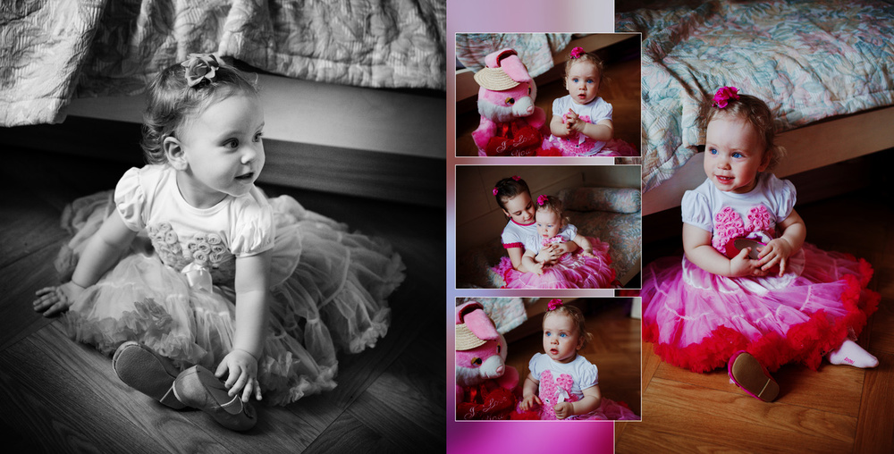 Serafima's Birthday 1 year