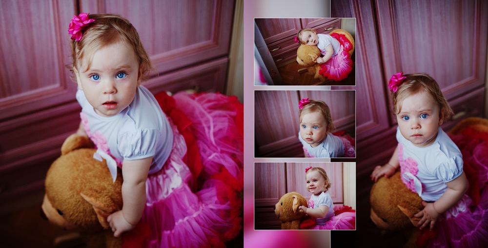 Serafima's Birthday 1 year