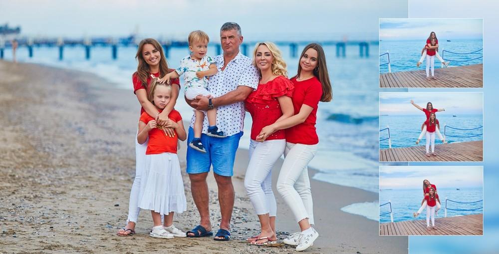 Big family at Hotel