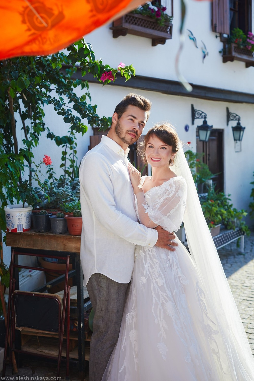 Pavel and Tania in Gumuldur