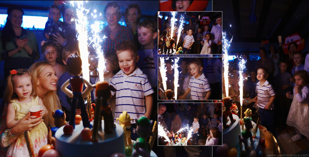 Kostik's 4th Birthday