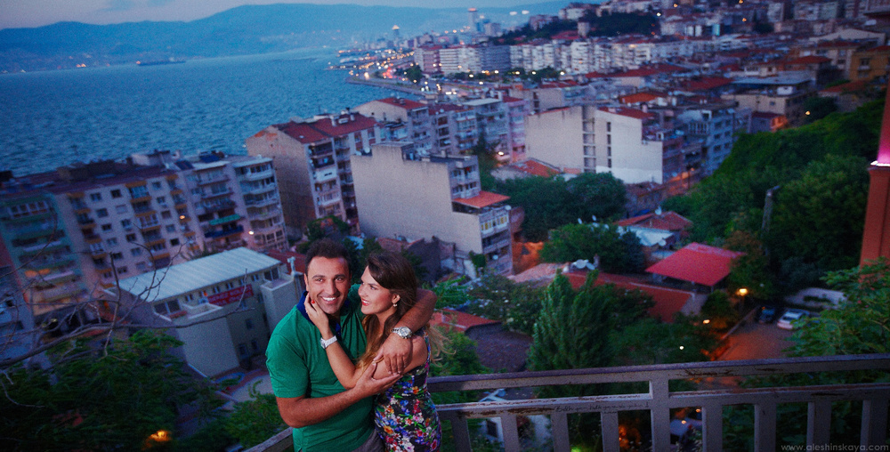 Lida and Ali at Izmir