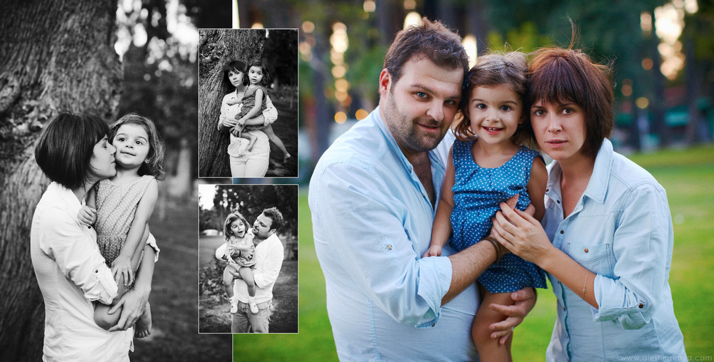 Sofia and parents
