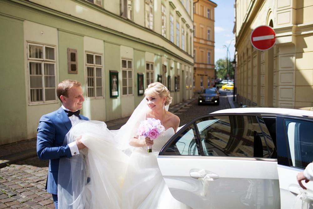 Prague, Popovičky, Olya&Dima