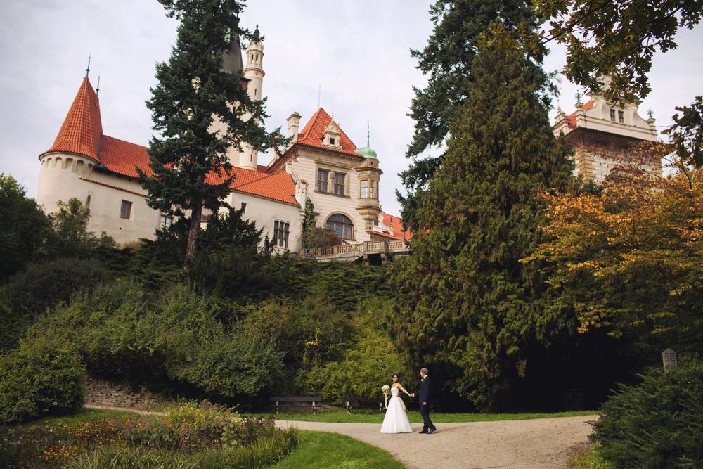 Prague,Staromestska radnice, Andrey&Daria