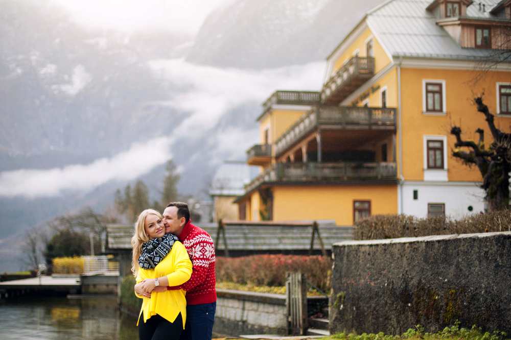 Austria, Hallstatt, Valentina&Evgeniy