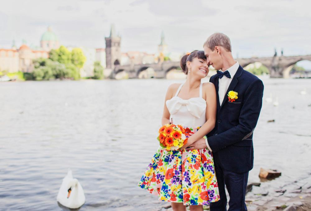 Prague, Staromestske radnice, Oksana&Denis
