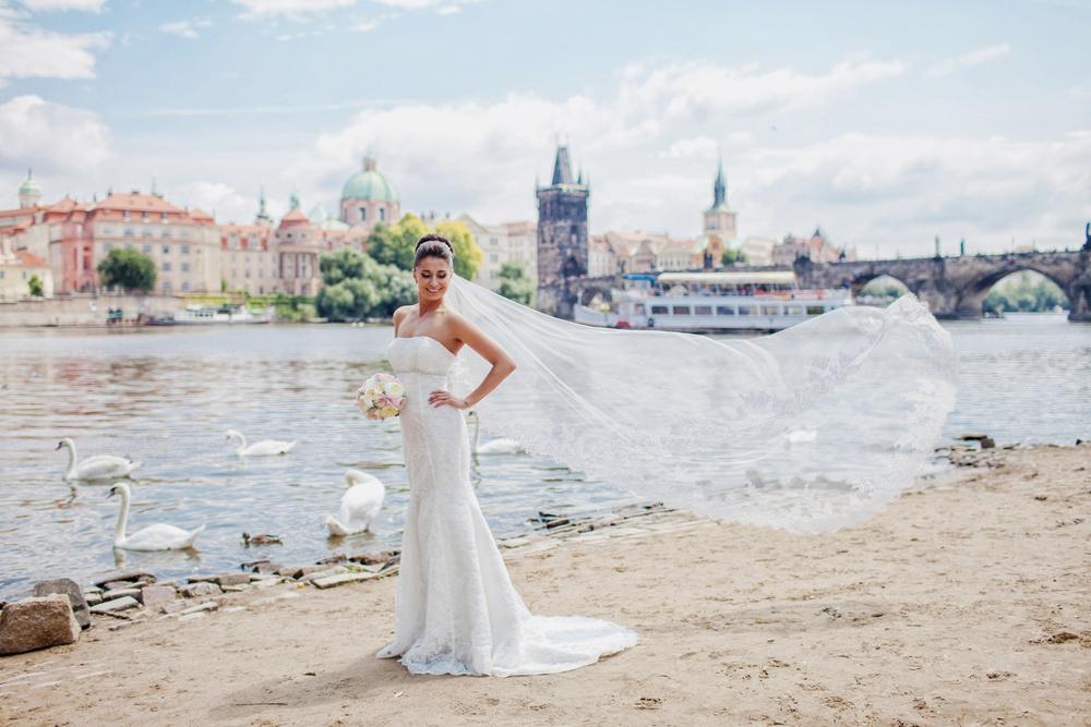Prague, Klementinum, Alevtina&Maxim