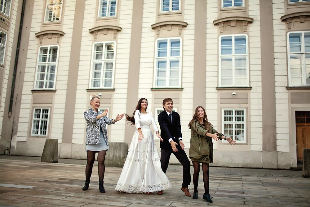 Prague, Staromestska radnice, Valeriya&Evgeniy
