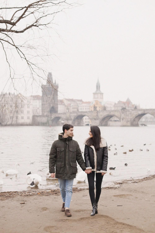 Prague, Claudia&Juan