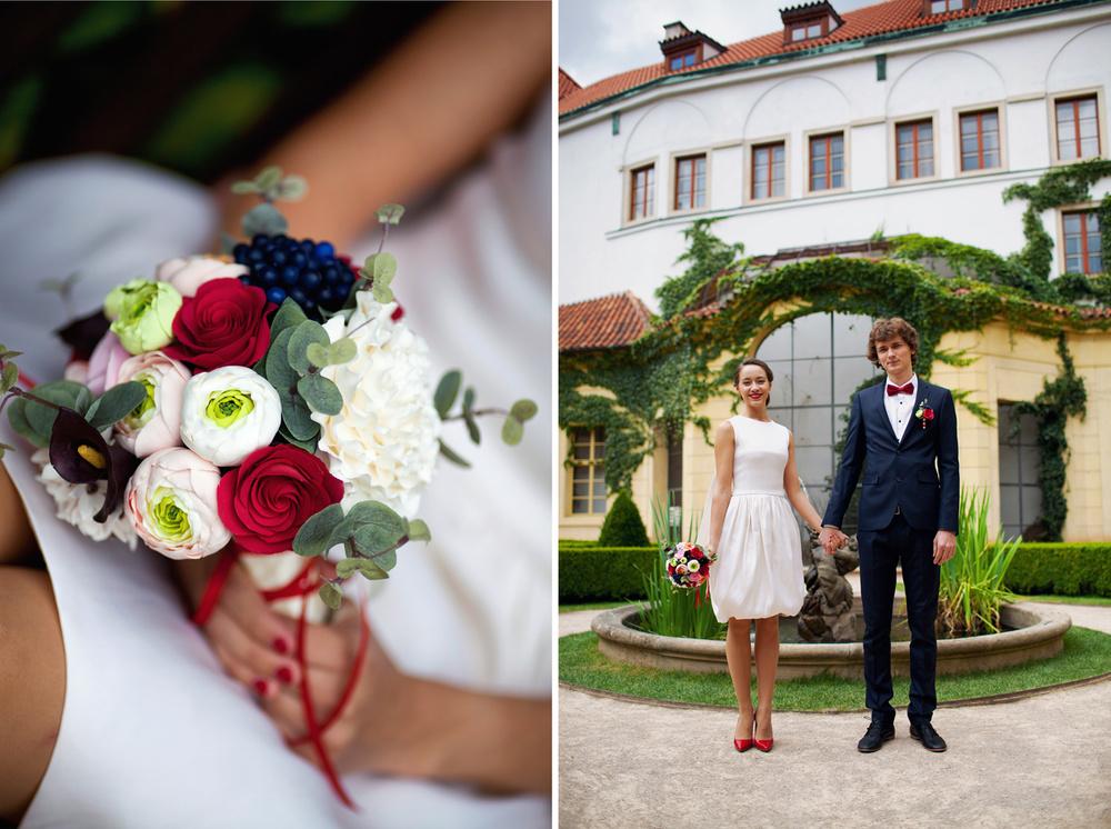 Prague,Vrtbovská zahrada, Daria&Semen