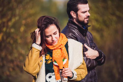Михаил и Ольга. Теплый осенний день