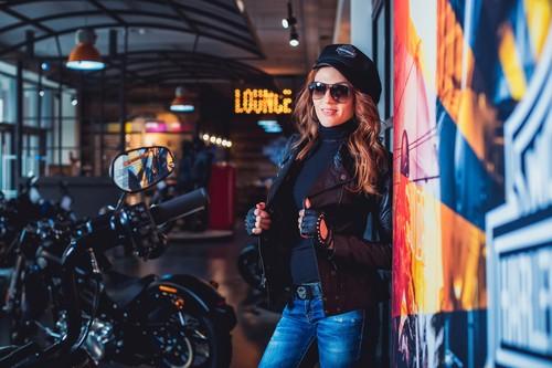 Natali & Harley-Davidson