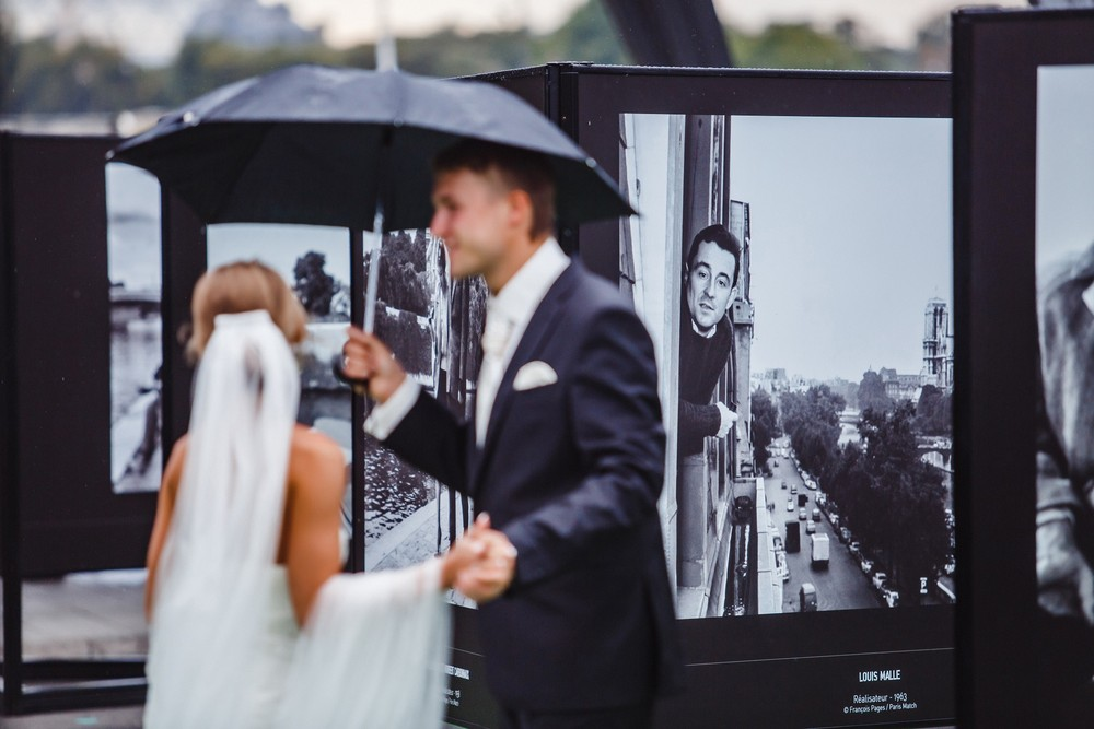 Свадьба в Париже