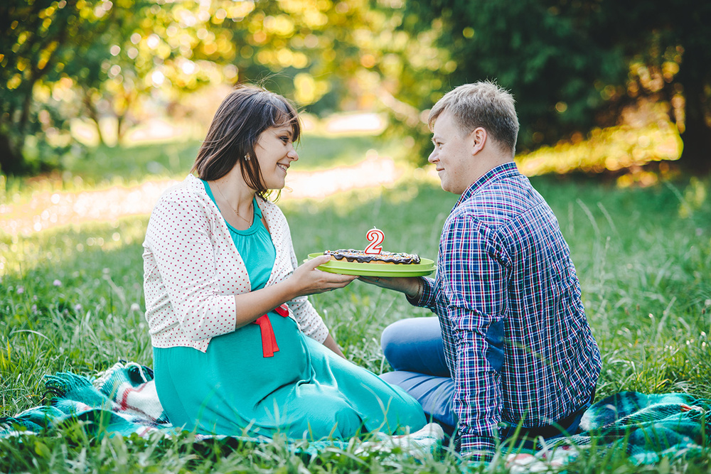 Беременность  - Александрия и Женя - съемка беременной, в ожидании ребенка