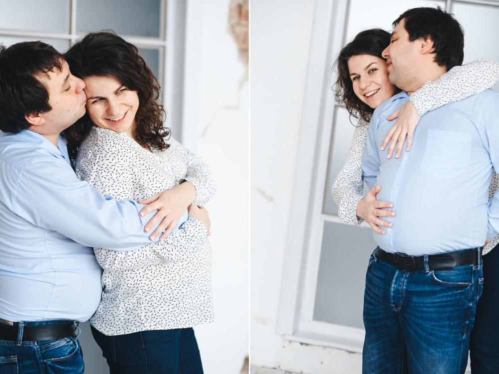 Беременность  - Полина+Юра = Анюта