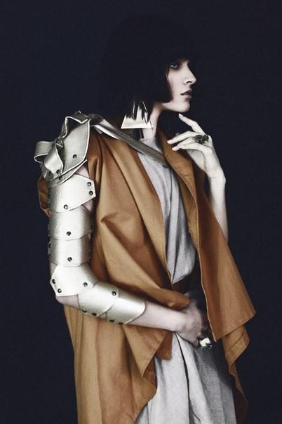 """""""Gold armour"""" photo Yukka Podolska"""