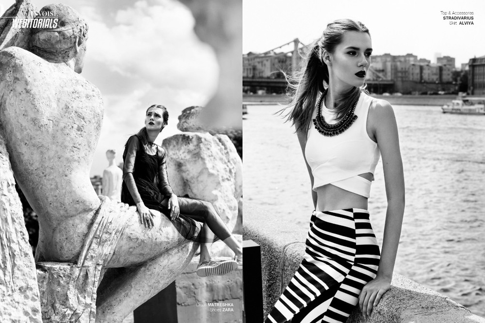 For INVOISE Magazine. Eclectic of Russian park