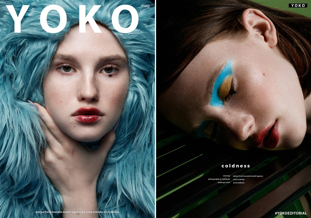 For YOKO Magazine. Coldness