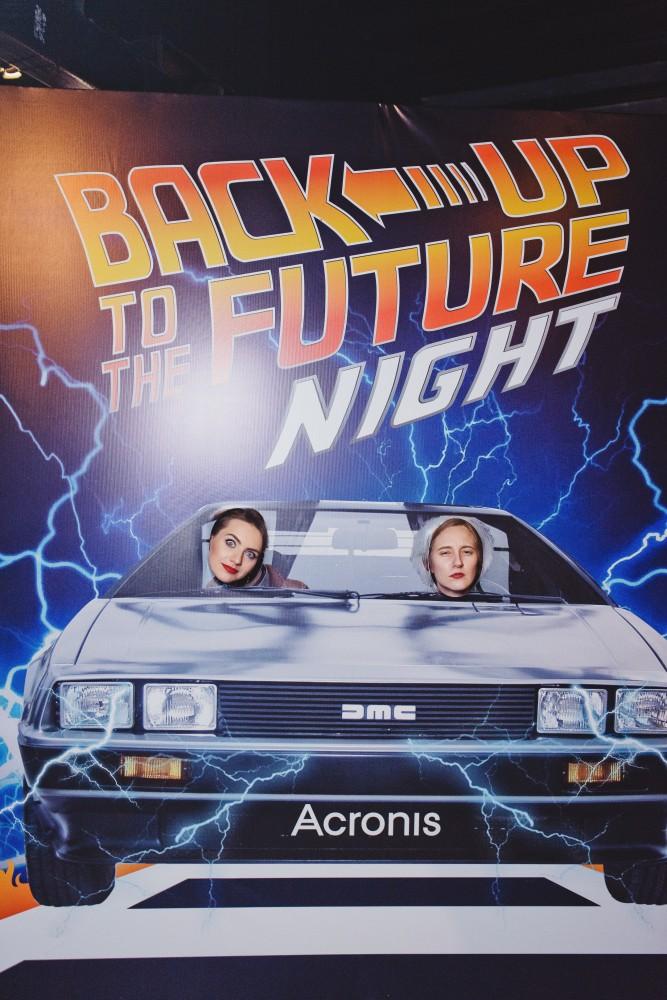НОВОГОДНЯЯ ВЕЧЕРИНКА ACRONIS BACK UP TO THE FUTURE NIGHT 2016