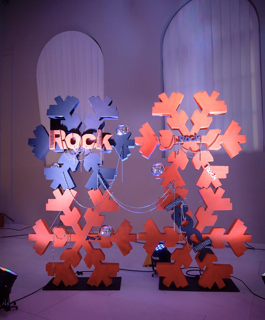 Новый год_стиль ROCK_