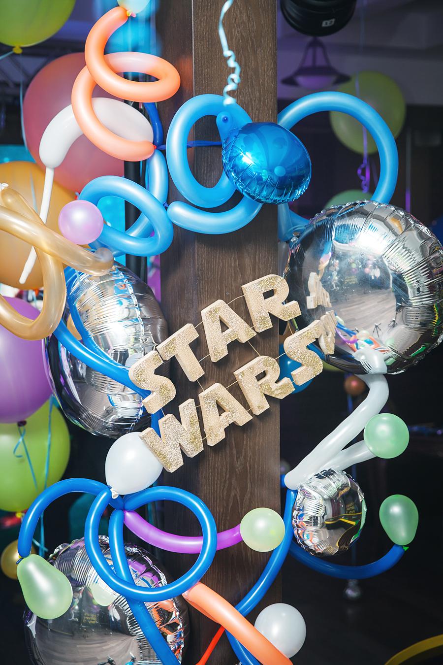 """День рождения_9 лет в стиле """"Star Wars"""""""