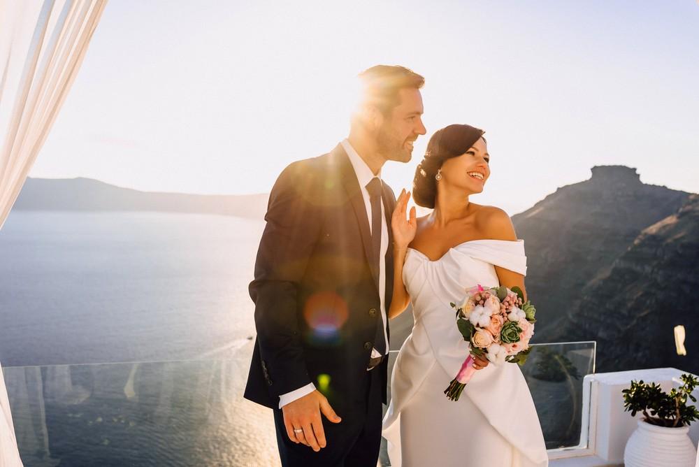 Spring Love in Santorini 2016