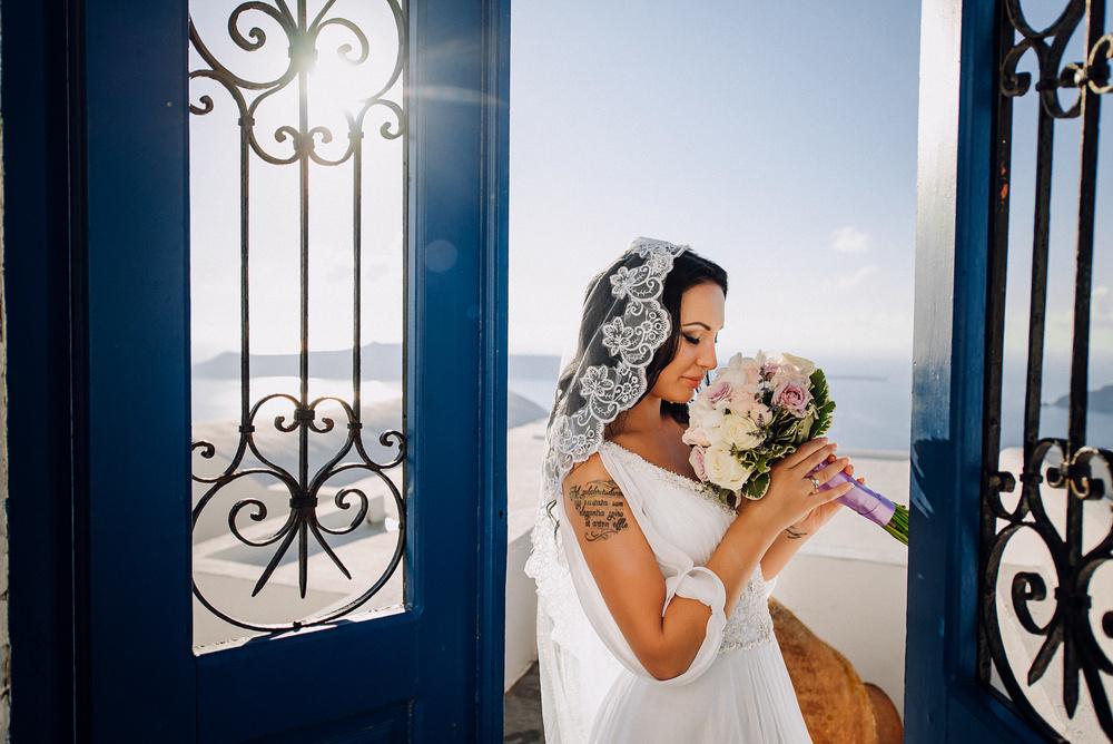 Wedding Julia & Dmitriy Santorini,Greece