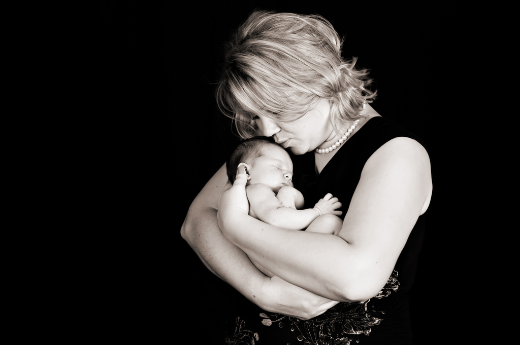 Leana Charleen (10 Tage jung) – Neugeborenenfotografie