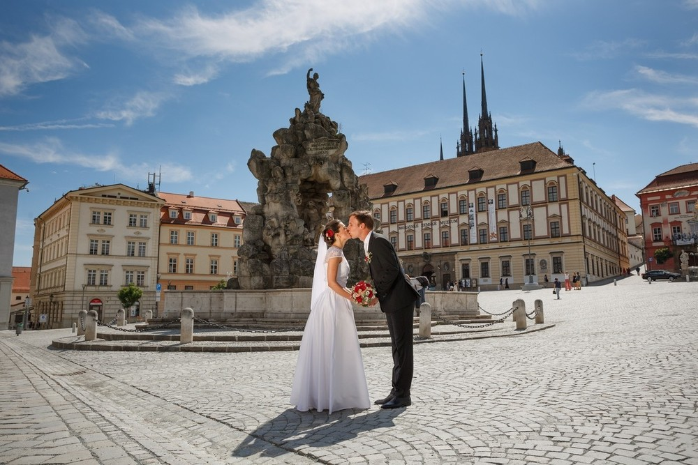 Alena & Vaclav. Castle Belcredi(Brno)