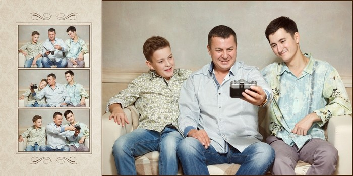 Irina & Alexander & kids